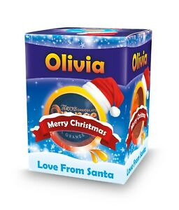 Personalised Terrys Chocolate Orange - Ideal Stocking Filler Christmas Present!