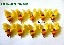 < 10 Pcs > Nipple Head Clip on Chicken Poultry Drinker Waterer, Bird, Quail