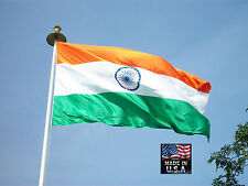 INDIA Republic of 3x5 Heavy Duty Super-Poly Indoor/Outdoor FLAG Banner*USA MADE