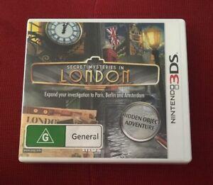 Secret Mysteries In London - Nintendo 3DS