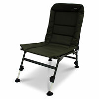 ABODE® Carp Fishing Camping Chair, Bed, Bedchair, Blanket & Pillow