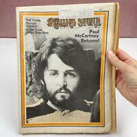 Vintage Rolling Stone Magazine April 30 1970 Paul McCartney
