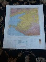 24x27 Rostov-Na-Donu, USSR Map Taganrog, Anapa, Pavloskaya Greki Black Sea