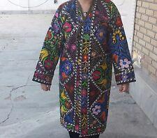 Lovely Uzbek Style Chapan  Made From Vintage Suzani in Samarkand 1HM