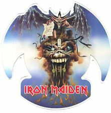 Iron Maiden THE EVIL THAT MEN DO Shaped Vinyl Picture Pic Disc!