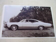 1968 CHEVROLET IMPALA 2DR SPORT COUPE 11 X 17  PHOTO  PICTURE