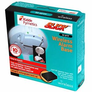 Kidde RF-SFTP Wireless Smoke Alarm Base for Slick Range Smoke & Heat Alarms