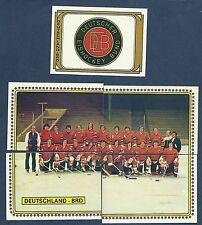 1979 Panini World Hockey Team West Germany (BRD), Set of 23