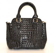 BOLSA NEGRO mujer bolso eco cuero pintura bandolera bag сумка 1100
