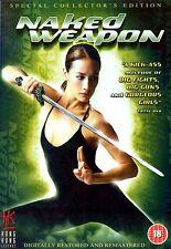 Naked Weapon DVD Maggie Q Almen Wong Original Siu Tung UK Release New Sealed R2