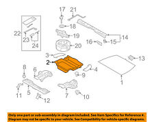 SUBARU OEM 14-16 Forester Interior-Rear-Trunk Cover 91141SG000
