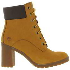 Timberland Allington 6 Inch Womens Ladies Lace Up Leather Ankle Boots Sizes 4-8