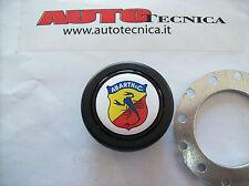 Pulsante clacson per volante sportivo universale Abarth 112 500 850 52/56 mm