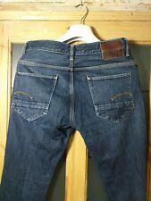 G-STAR New Radar Slim Jeans - Men's W34 L34 - Dark Blue - RRP £110