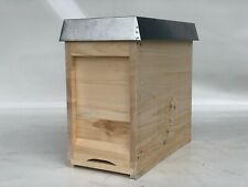 Mini Plus Beute aus Holz komplett inkl Futtertasche und Rähmchen-Apisfarm