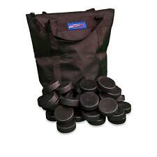 Proguard Ice Hockey 50 Hockey Pucks with FREE Puck Bag