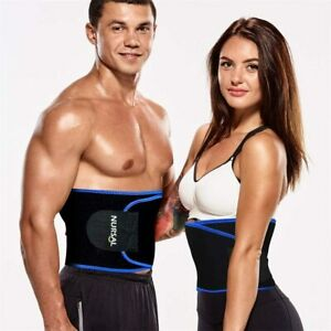 Waist Trimmer for Weight Loss Workout Sweat Enhancer Exercise Adjustable Wrap