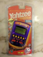 Vintage Sealed 1999 YAHTZEE Handheld Milton Bradley Extreme Grape Ultra Rare!!!