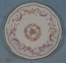 Z S & Co Bavaria Bread & Butter Plate ZSC4 Pattern 508 Scherzer Pink Roses (O2)