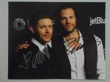 "JARED PADALECKI JENSEN ACKLES 8x10 Signed Photo Autographed -""SUPERNATURAL"""