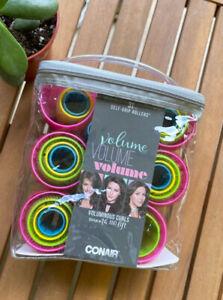 Conair Self Grip Hair Rollers Volume & Lift 31 Pieces Women Multi Size & Color