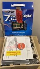 "New ListingNew Digital Prism 7in 7"" Portable Lcd Screen Edtv-Ready Television Tv"