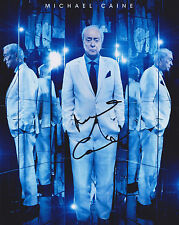 Michael Caine Hand Signed 8x10 Photo, Autograph, Now You See Me 2, Italian Job