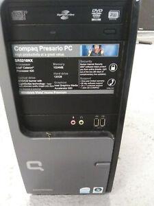 Compaq Presario SR5210NX Desktop (Windows XP) - Will not boot, beeping