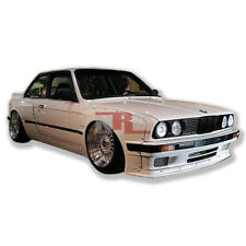 for 84-91 BMW 3 Series E30 coupe GT wide body kit over fenders 50/70mm wing