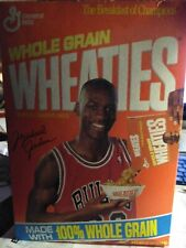 1990 Michael Jordan Wheaties Box Full RARE!