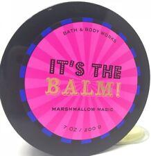 Bath & Body Works Marshmallow Magic Body Butter It's The Balm vanilla, lavender