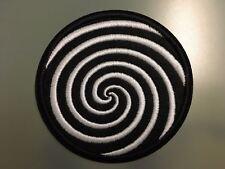 "THE TWILIGHT ZONE Rod Sterling VERTIGO -Embroidered Iron On Patch 3"""