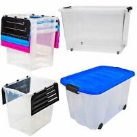 Aufbewahrungsbox mit Deckel 4,5 - 100 L stapelbar Kunststoffbox  Lagerbox Box