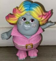 "Hasbro Bridget Troll Removable Clothes Plastic Toy 6"" Rare Collectable"