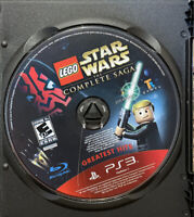 LEGO Star Wars Complete Saga Greatest Hits-Playstation 3-PS3-Game Disc Only