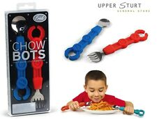Chowbots – Children's Cutlery Set Robot Arms Mechanic Fork & Spoon FREE DELIVERY