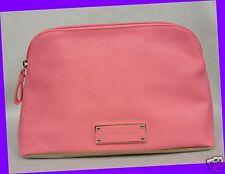 Victoria's Secret GOLD & PEACH ORANGE Colorblock Evening Clutch Bag Purse Pouch