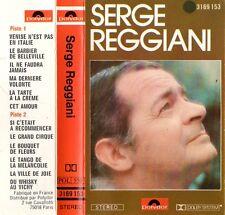 "SERGE REGGIANI ""S/T"" CASSETTE 1977 polydor"