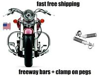 NEW COBRA FREEWAY BARS AND HIGHWAY PEGS FOOTPEGS SUZUKI VOLUSIA 800 + C50 M50