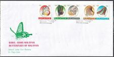 MALAYSIA 1996 Butterflies of M'sia Booklet FDC on Private Cover