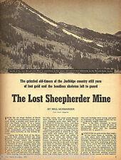 The Lost Sheepherder Mine Of Jarbridge Country