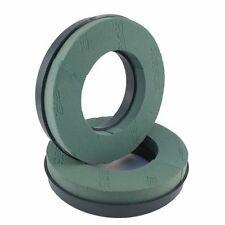 2 x Oasis® foam plastic base Wreath Rings 10 inch 25cm