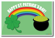 Happy St. Patricks Day - NEW Holiday Season Fun Irish POSTER