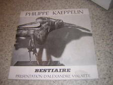 1971.bestiaire / Philippe Kaeppelin.envoi autographe