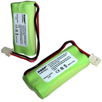 2-Pack HQRP Cordless Phone Battery for VTech BT183342 BT283342