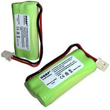 2-Pack HQRP Cordless Phone Battery for VTech BT183342 BT283342