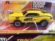 Rare Autoworld Dodge Fever Jegs Challenger Concept HO Xtraction Slot Car for AFX