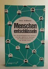 Menschen entschlüsseln von Jens Hoffmann | Buch | Zustand: Gut