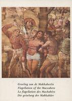 Alte Kunstpostkarte - Die Geisselung der Makkabäer