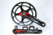 FULCRUM RACING TORQ RS CARBON CHAINSET / CRANK 175mm DOUBLE ROAD RACING BIKE